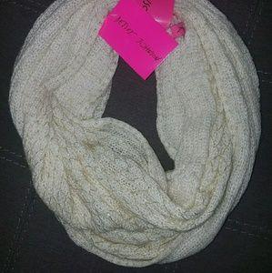 Betsy Johnson infinity scarf